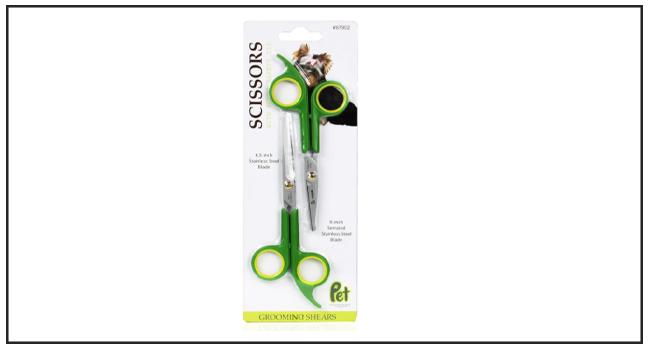 Pet Magasin Round Tip Best Dog Grooming Scissors